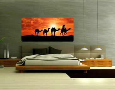 Product picture Wall Mural Caravan Route