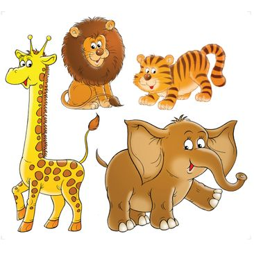 Product picture Wall Decal no.68 Safari Set
