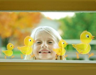 Produktfoto Window Sticker no.69 Chick Set