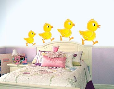 Product picture Wall Decal no.69 Chick Set