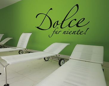 Product picture Wall Decal no.SF386 Dolce far niente