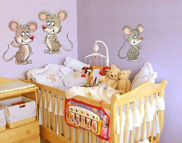 Produktfoto Wall Decal no.73 Mouse Set