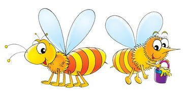 Product picture Wall Decal no.74 Bee Set