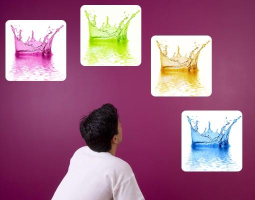 Produktfoto Selbstklebendes Wandbild Four Water...