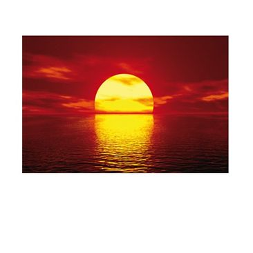 Product picture Window Mural Fantastic Sunset
