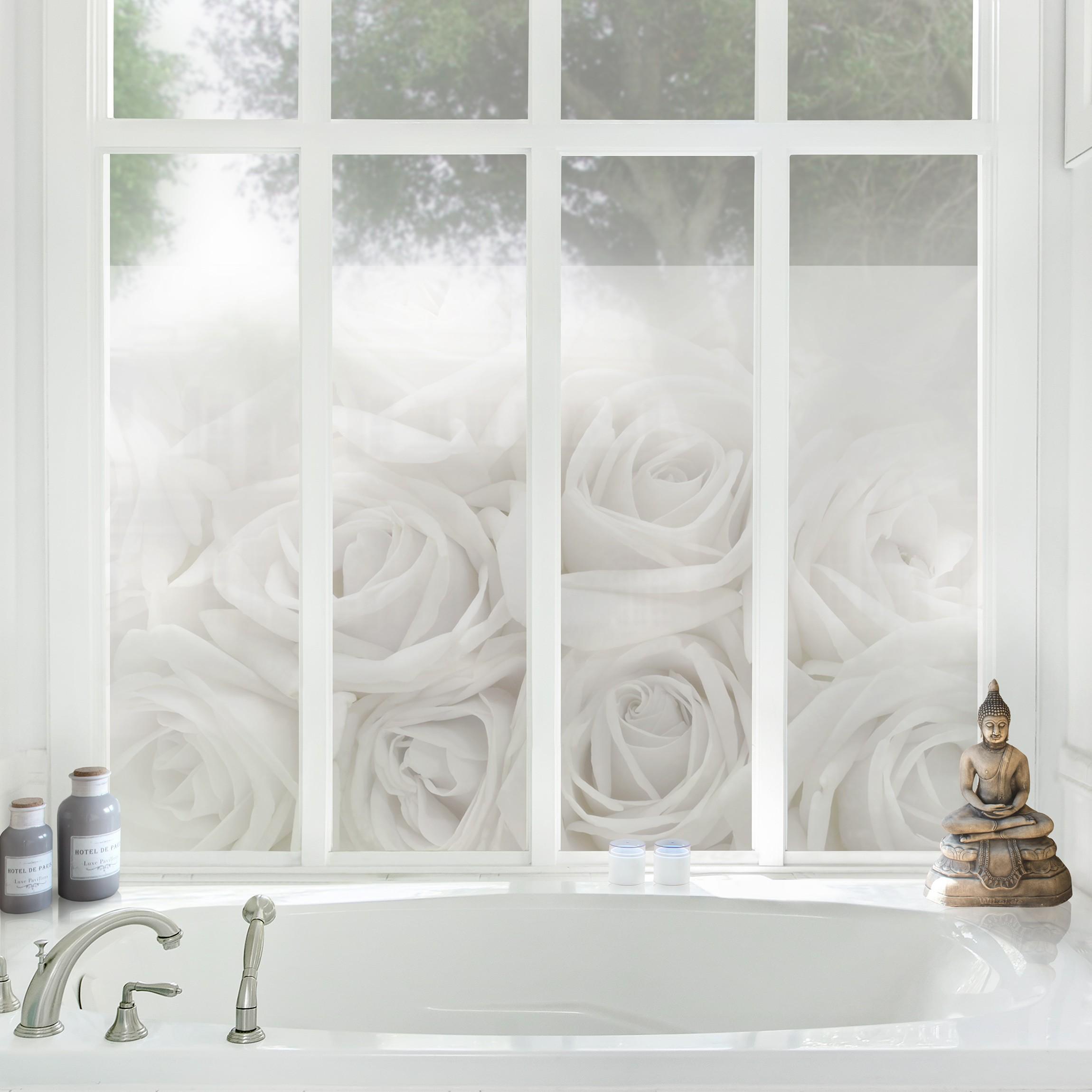 Fensterfolie sichtschutz fenster rosenhochzeit fensterbilder - Fensterfolie ikea ...