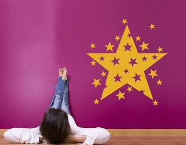 Produktfoto Wall Decal no.SF462 sparklestar