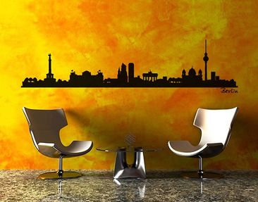 Produktfoto Wandtattoo Skyline No.SF477 Berlin Skyline