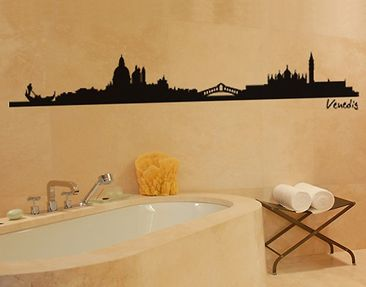 Product picture Wall Decal no.SF479 Venice Skyline