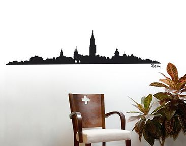 Produktfoto Wall Decal no.SF481 Bern Skyline