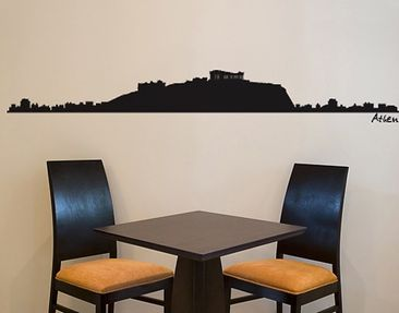 Product picture Wall Decal no.SF486 Athens Skyline