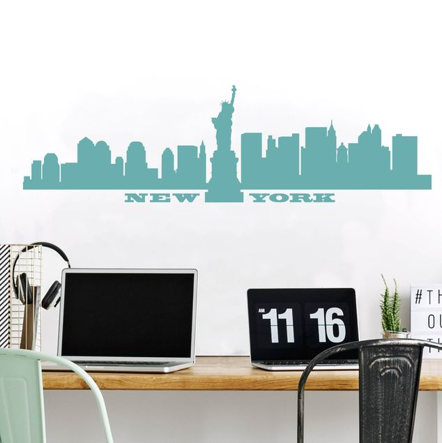 Produktfoto Wandtattoo Skyline No.SF490 New York Skyline