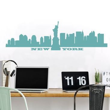 Produktfoto Wall Decal no.SF490 New York Skyline