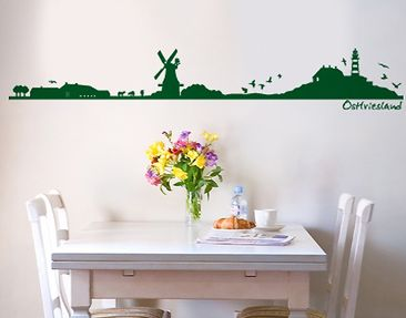 Produktfoto Wall Decal no.SF492 East Frisia...