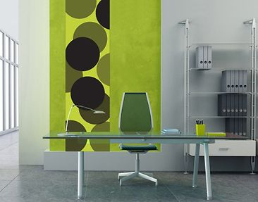 Product picture Wall Decal no.UL258 Wallpaper Green...