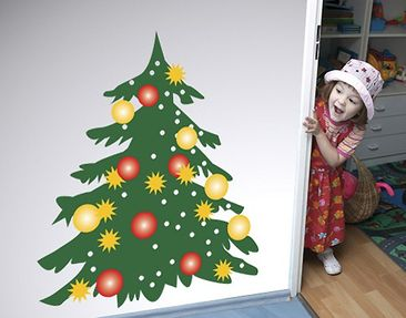 Product picture Wall Decal no.UL271 Christmas Tree