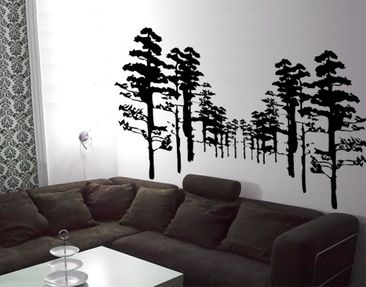 Product picture Wall Decal no.KP43 Forest
