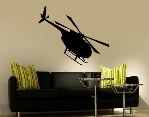 Produktfoto Wandtattoo No.KP50 Helikopter