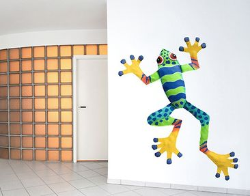 Product picture Wall Decal no.SF509 Coloured Frog