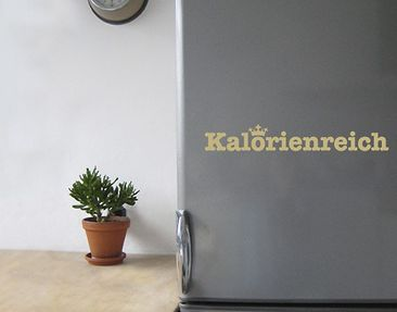 Produktfoto Wall Decal no.SF534 Kalorienreich