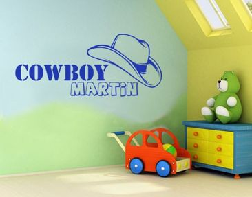 Product picture Wall Decal no.KP71 Your Own Words Cowboy