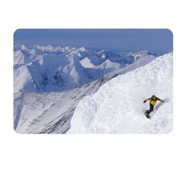 Product picture Wall Mural Snowboarding
