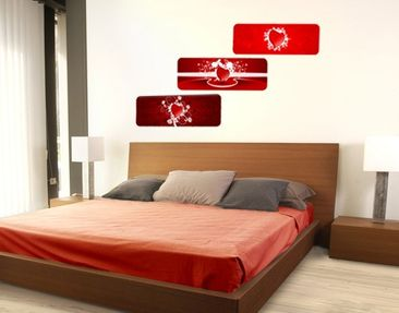 Product picture Wall Mural Hearts