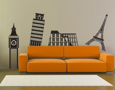 Produktfoto Wall Decal no.375 Big Ben & Co.