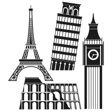 Product picture Wall Decal no.375 Big Ben & Co.