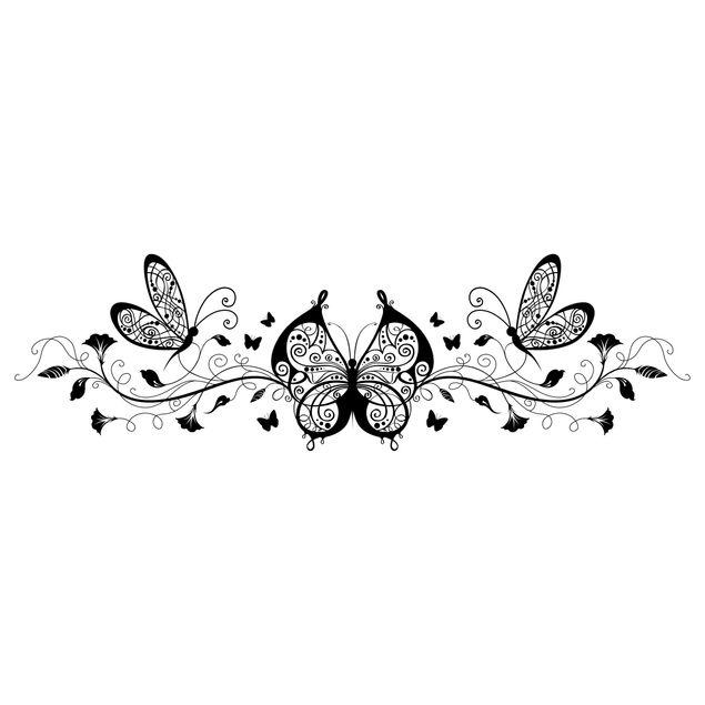 Produktfoto Wandtattoo Schmetterling No.386 Queen of Butterflies