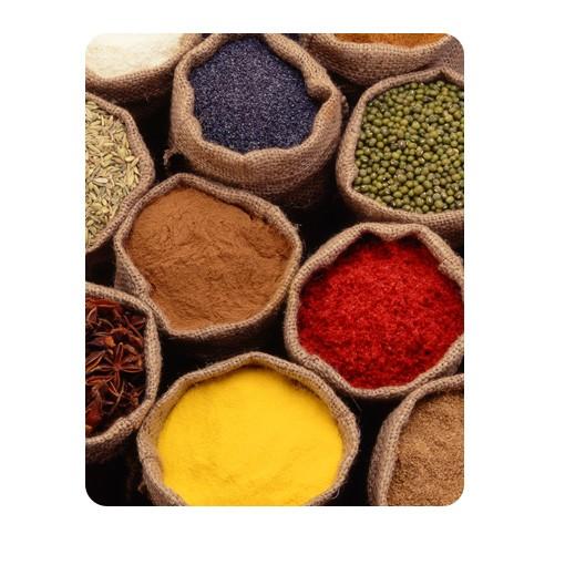 Produktfoto Selbstklebendes Wandbild Colourful Spices