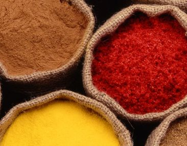 Product picture Wall Mural Colourful Spices