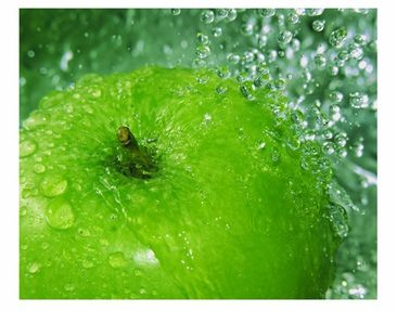 Product picture Window Mural Green apple