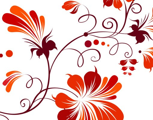 Produktfoto Fensterfolie - Fenstersticker No.79 Tender flower - Fensterbilder