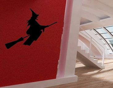 Product picture Wall Decal no.392 witch in flight