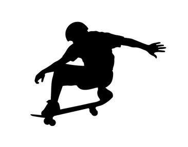 Product picture Wall Decal no.401 Skate Sports