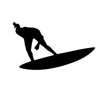 Product picture Wall Decal no.404 Surf Sports