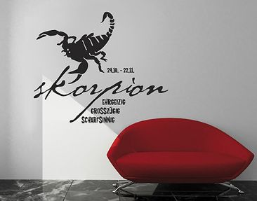 Produktfoto Wall Decal no.UL278 Scorpio S1