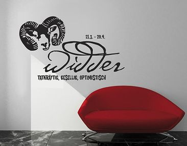 Product picture Wall Decal no.UL283 Aries S1