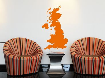 Produktfoto Wall Decal no.KP123 Great Britain