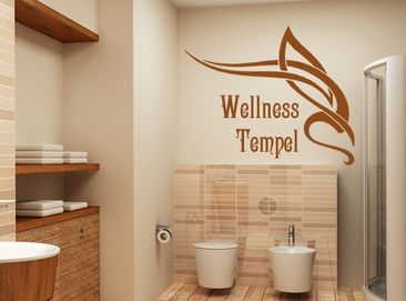 Produktfoto Wall Decal no.TM43 wellness fane