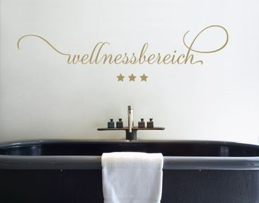 Produktfoto Wall Decal no.SF540 spa area