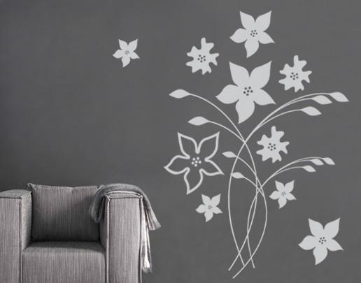 Produktfoto Wandtattoo No.SF550 Blumenpracht
