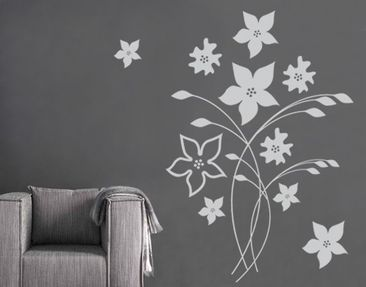 Produktfoto Wall Decal no.SF550 gorgeous flowers