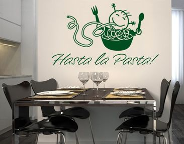 Product picture Wall Decal no.SF559 Hasta la Pasta