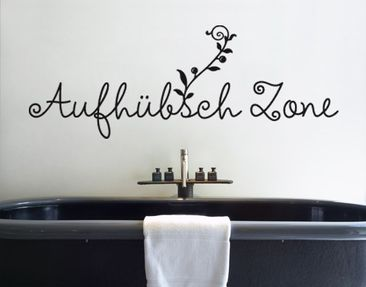 Produktfoto Wall Decal no.SF548 Aufhübschzone