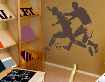 Product picture Wall Decal no.UL291 Football Duell 2