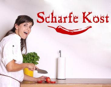 Produktfoto Wall Decal no.KP59 Scharfe Kost