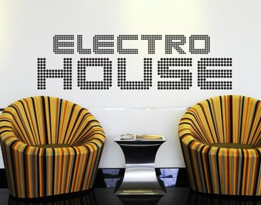 Produktfoto Wall Decal no.TM69 electro house