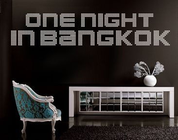 Product picture Wall Decal no.TM71 one night in bangkok